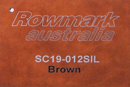 Leatherette Engraving Sheet in Brown 305x610mm