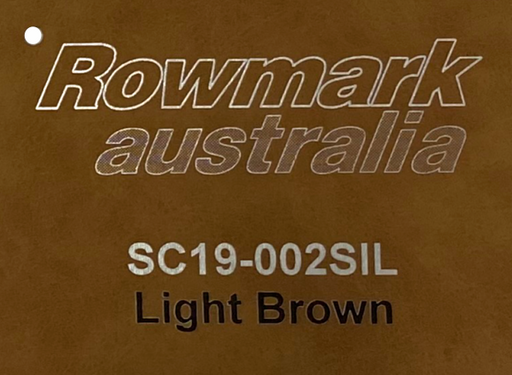 Leatherette Engraving Sheet in Light Brown 305x610mm