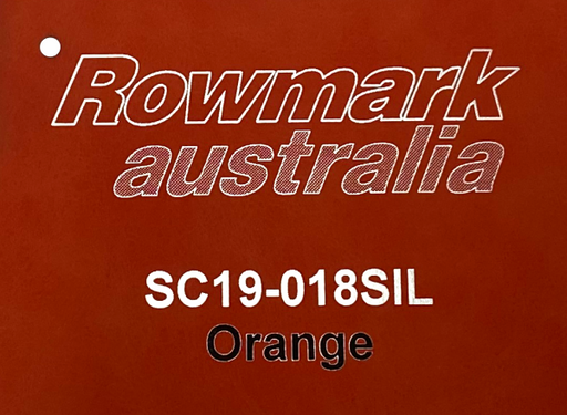 Leatherette Engraving Sheet in Orange 305x610mm