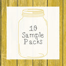 10 Sample Pack │ Hedgehog