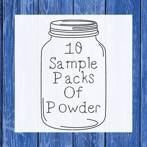10 Sample Packs Of Powder - Hermit Crab Food - Organic - Hermit Crab - Pet Food - Hermie's Kitchen