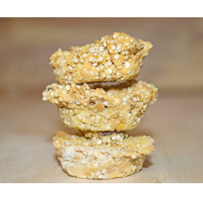 Octo & Quinoa Cakes - Hermit Crab Food - Organic - Hermit Crab - Pet Food - Hermie's Kitchen