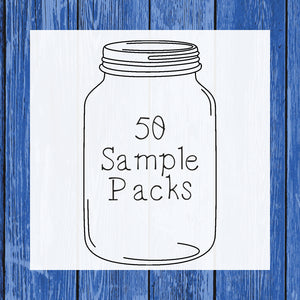 50 Sample Packs  - Hermit Crab Food - Organic - Hermit Crab - Pet Food - Hermie's Kitchen