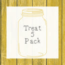 Treat 5 Pack │ Hedgehog
