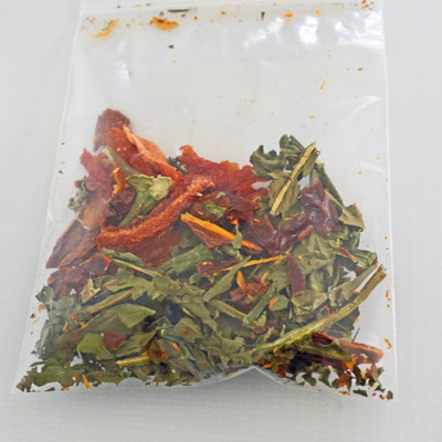 Dandelion Greens Salad - Hermit Crab Food - Organic - Hermit Crab - Pet Food - Hermie's Kitchen