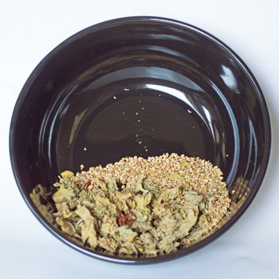 Kale and Pepper Jumble - Hermit Crab Food - Organic - Hermit Crab - Pet Food - Hermie's Kitchen