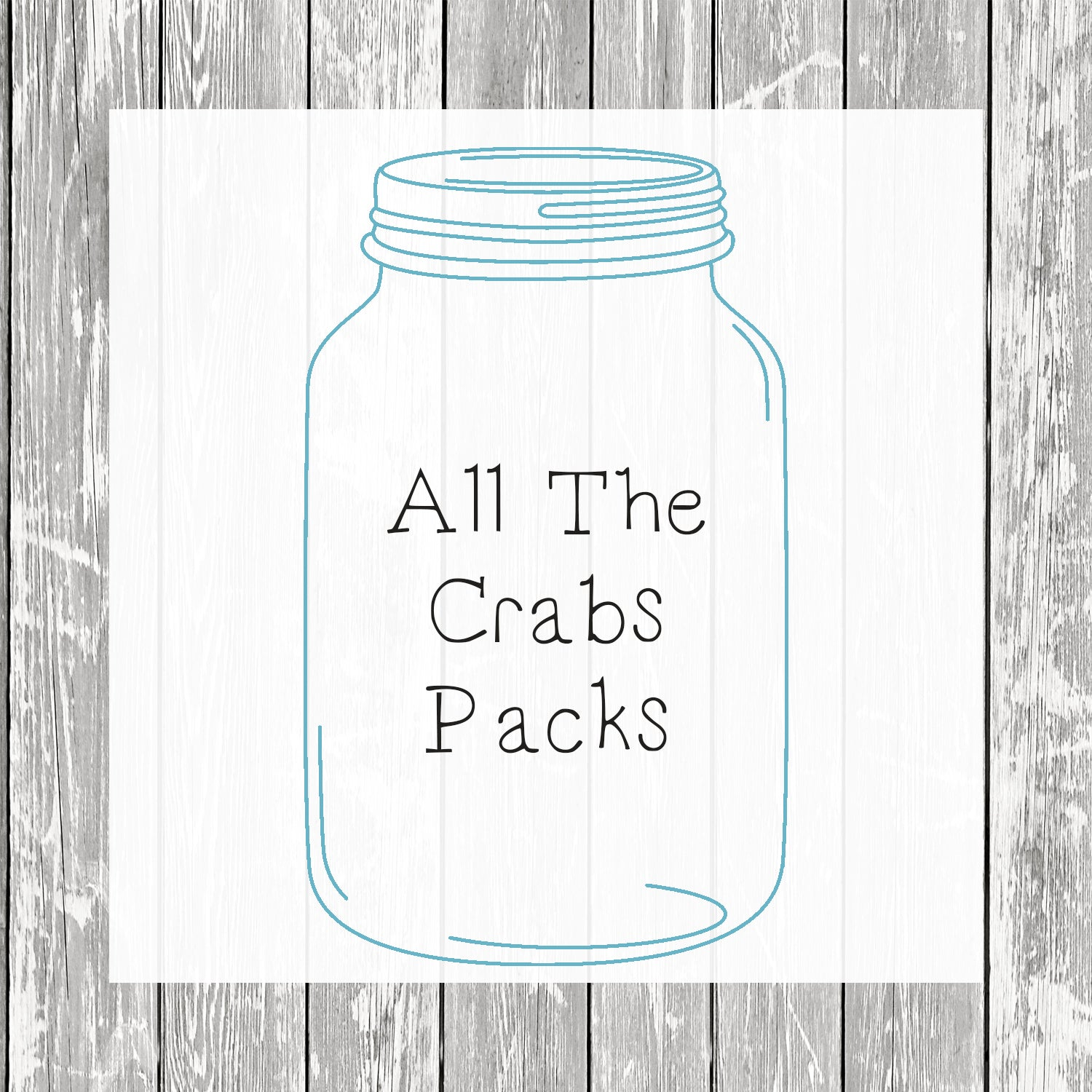 All The Crabs Packs (Small, Medium & Large Bags)  - Hermit Crab Food - Organic - Hermit Crab - Pet Food - Hermit Crabs - Hermit Crab Treat - Hermie's Kitchen