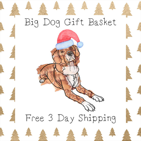 Big Dog Gift Basket │ Free 3 Day Shipping