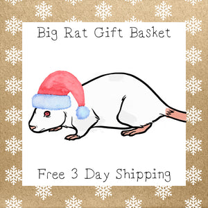 Big Rat Gift Basket │ Free 3 Day Shipping