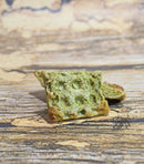 Apple-Kale Waffles - Hermit Crab Food - Organic - Hermit Crab - Pet Food - Hermie's Kitchen