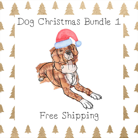 Dog Christmas Bundle 1│ Dog │Free Shipping