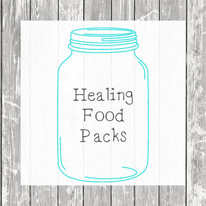 Healing Food Packs - Hermit Crab Food - Organic - Hermit Crab - Pet Food - Hermie's Kitchen
