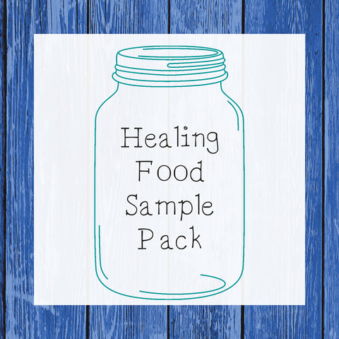 Healing Food Sample Pack - Hermit Crab Food - Organic - Hermit Crab - Pet Food - Hermie's Kitchen