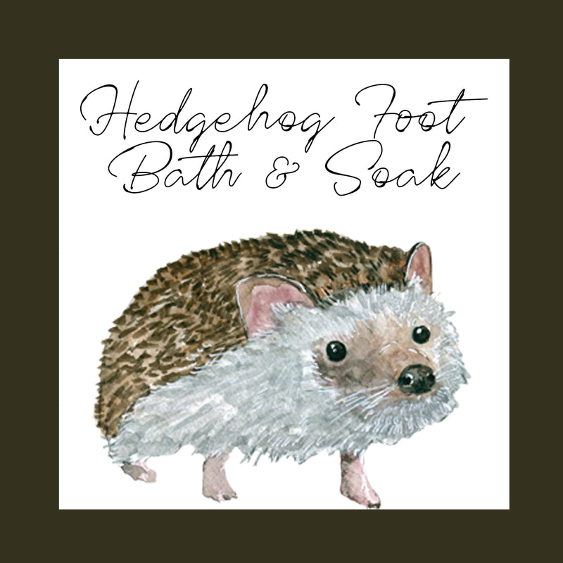 Foot Bath & Soak │ Hedgehog