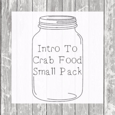 Intro To Crab Food - Small Pack - Hermit Crab Food - Organic - Hermit Crab - Pet Food - Hermie's Kitchen