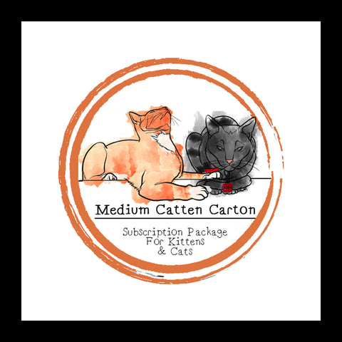 Medium Catten Carton (For Kittens & Cats) │ Subscription Box │ Raw Feeding