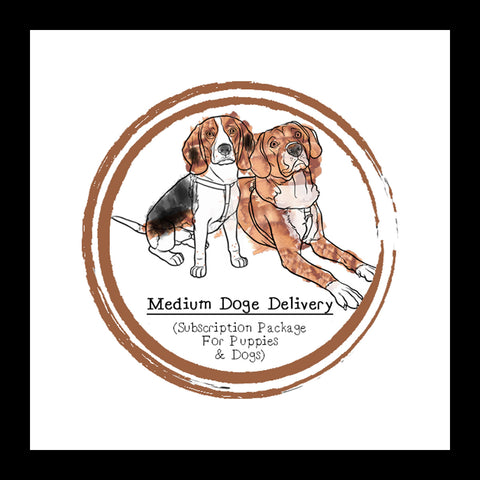 Medium Doge Delivery (For Puppies & Dogs) │ Subscription Box │ Raw Feeding