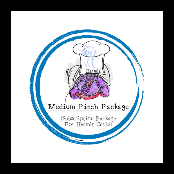 Medium Pinch Package │ Food Subscription │ Hermit Crab