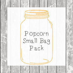 Popcorn Small Bag Pack (Small Bags) - Hermit Crab Food - Organic - Hermit Crab - Pet Food - Hermie's Kitchen