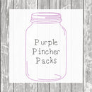 Purple Pincher Packs (Small, Medium & Large Bags)  - Hermit Crab Food - Organic - Hermit Crab - Pet Food - Hermit Crabs - Hermit Crab Treat - Hermie's Kitchen