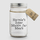 Hermie's Super Mason Jar Meals │ 16 oz │ Hermit Crab