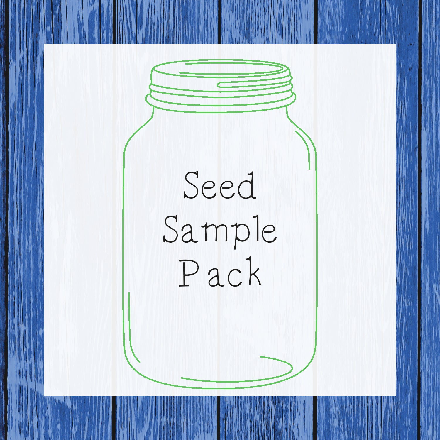 Seed Sample Pack (Sample Bags) - Hermit Crab Food - Organic - Hermit Crab - Pet Food - Hermie's Kitchen