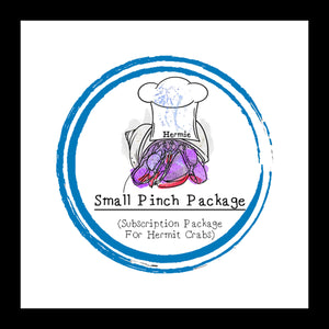 Small Pinch Package │ Food Subscription │ Hermit Crab