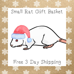 Small Rat Gift Basket │ Free 3 Day Shipping