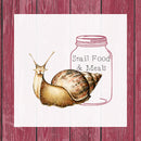 Snail Mason Jar Meal Three │ 4 Oz
