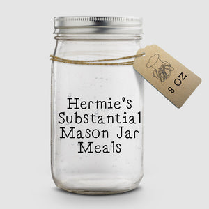Hermie's Substantial Mason Jar Meals │ 8 oz │ Hermit Crab Food