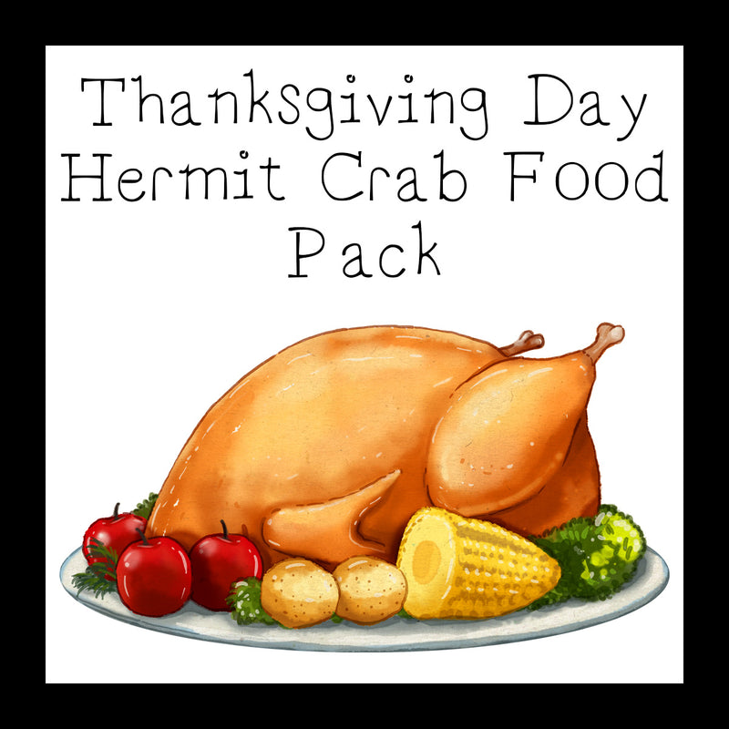 Thanksgiving Day Food Pack │ Hermit Crab