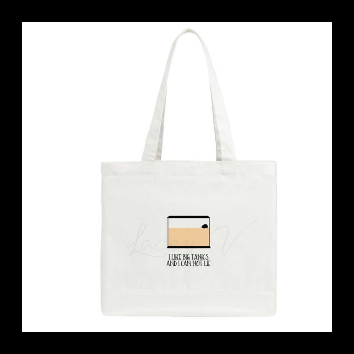 I Like Big Tanks Tote Bag │ Pet