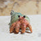 Clay Hermit Crab Necklace - Hermit Crab - Hermie's Kitchen