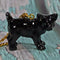 Clay Black Cat Necklace