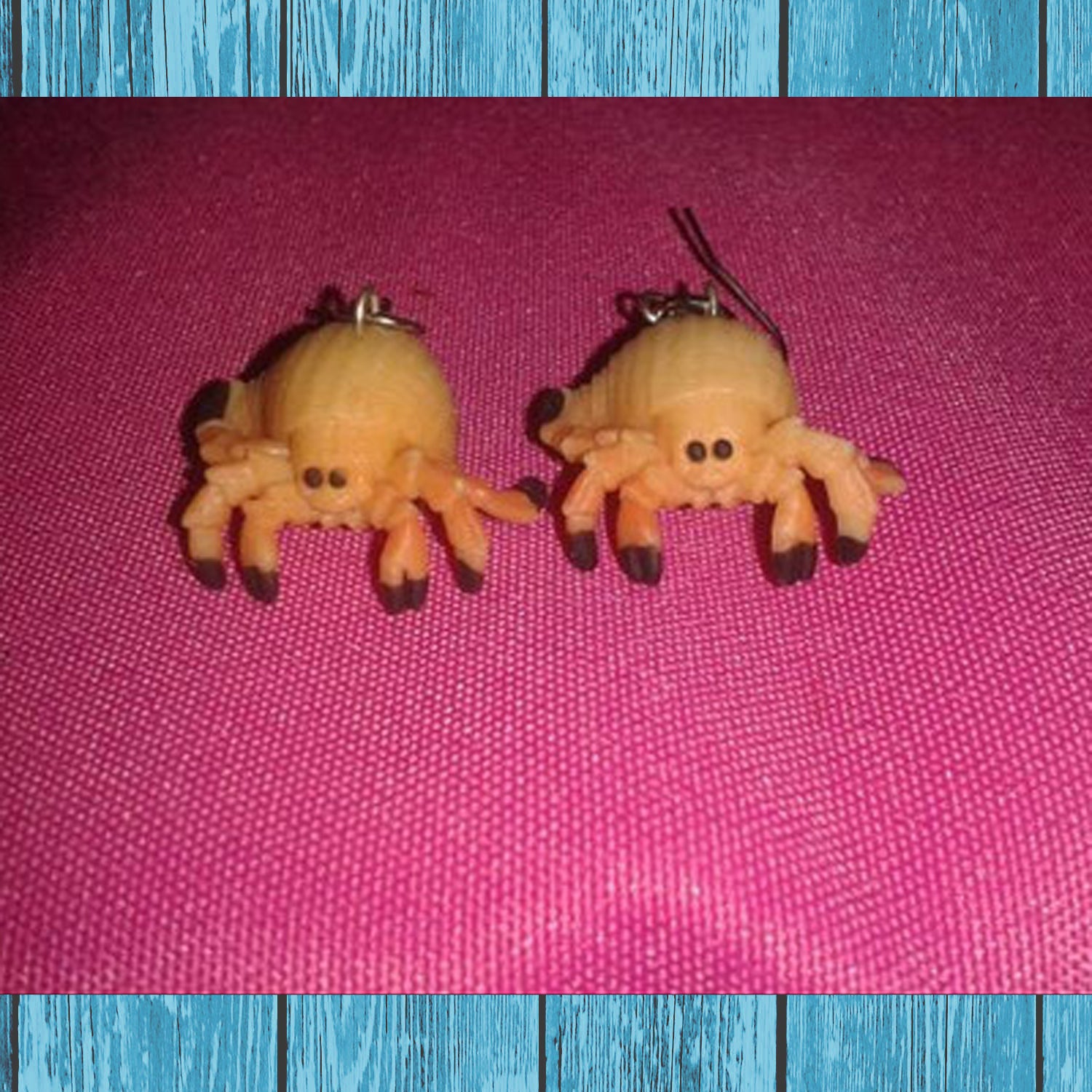 Hermit Crab Earrings - Hermit Crab Food - Organic - Hermit Crab - Pet Food - Hermie's Kitchen