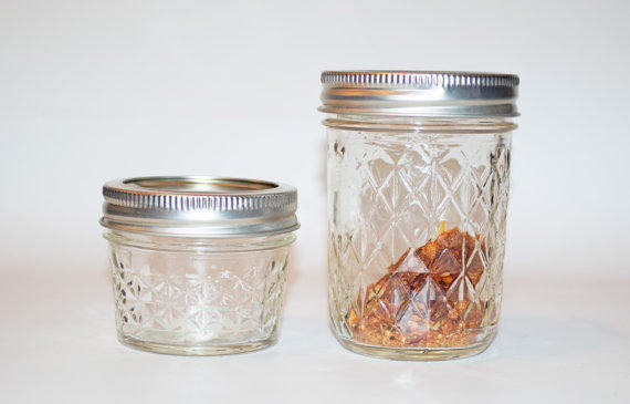 Betta Mason Jar Meal Two - 8 Oz  - Betta Food - Pet Food - Hermie's Kitchen