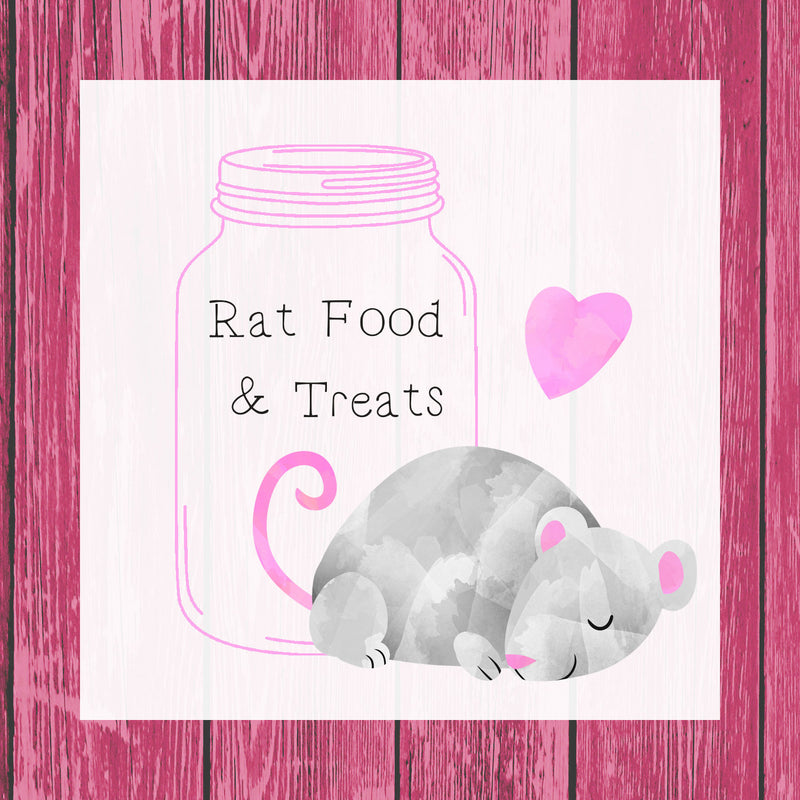 Yogurt Cup Surprise - Rat - Rat Treats - Rats - Pet Treats - Rat Treat - Treats - Pet Food - Rat Food - Mouse Rat - Small Animal Treats - Hermie's Kitchen