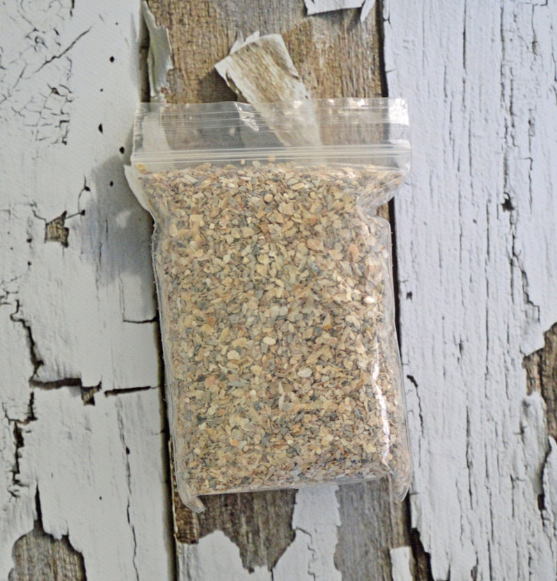 Oyster Shells - Hermit Crab Food - Organic - Hermit Crab - Pet Food - Hermie's Kitchen