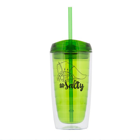 #Salty Green Tumbler │16 oz Tumbler