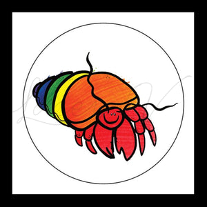 Hermit Crab Sticker │ 6