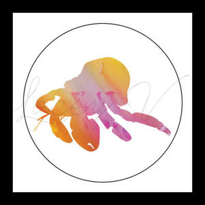 Hermit Crab Sticker │ 7