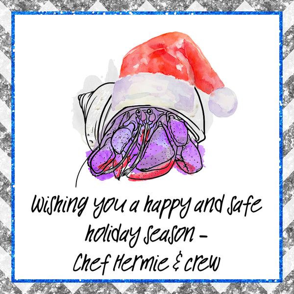 Crabmas Cookies Pack │ Hermit Crab │Free Shipping