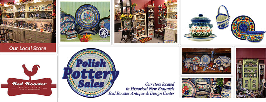 Polish Pottery Sales store located San Antonio, TX - view authentic Boleslawiec Stoneware and Home Decor'