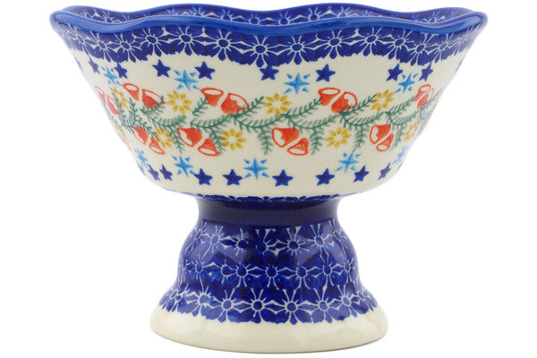 "7"" Bowl with Pedestal Ceramika Bona H1233J"
