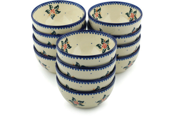"5"" Set of 12 Bowls Ceramika Bona H3002I"