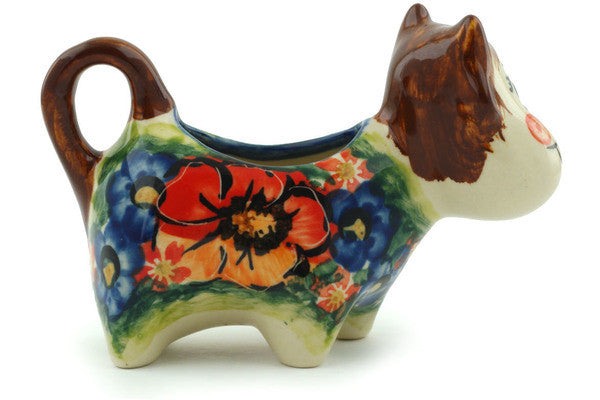 2 oz Cow Shaped Creamer Cer-raf UNIKAT H4905I
