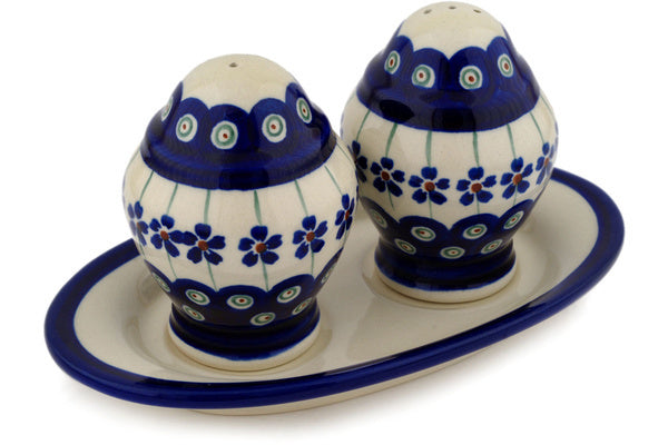 "7"" Salt and Pepper Set Zaklady Ceramiczne H9389C"