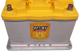 Optima DH6 Battery set in Main Tray