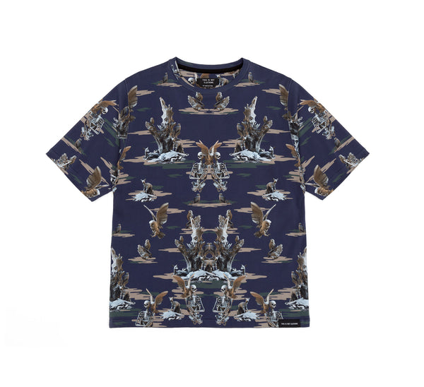 This Is Not Studio Fall of Paradise Camo Blue
