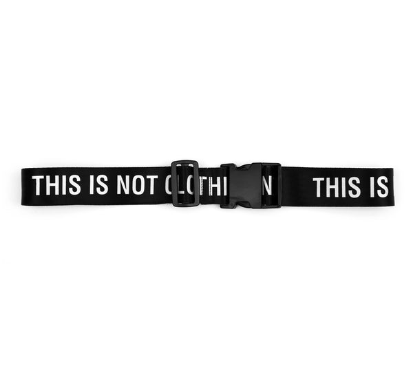 THIS IS NOT CLOTHING LOGO BELT
